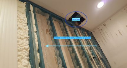Building Materials and Mold Contamination: a Word of Caution on Foam Insulation